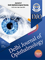 The Official Scientific Journal of Delhi Ophthalmological