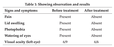 An Expeditious Recovery from Stye – A Case Study